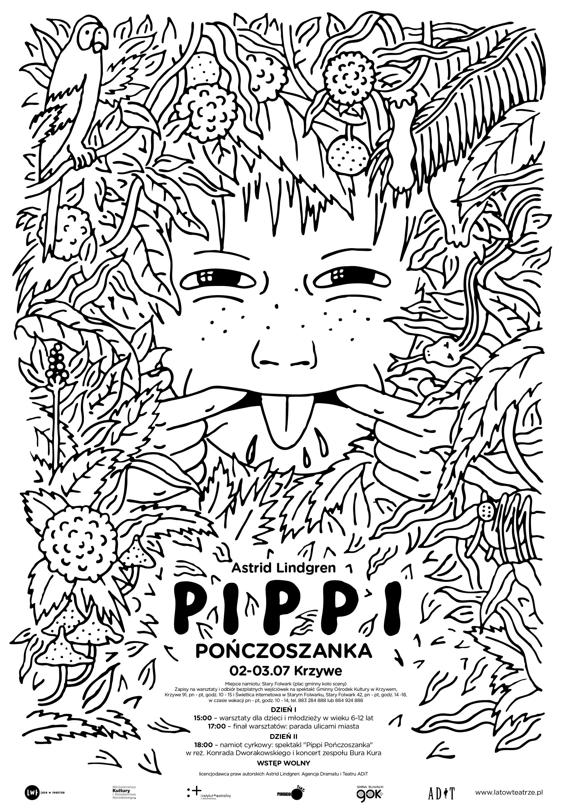 """Spektakl """"Pippi Pończoszanka"""""""